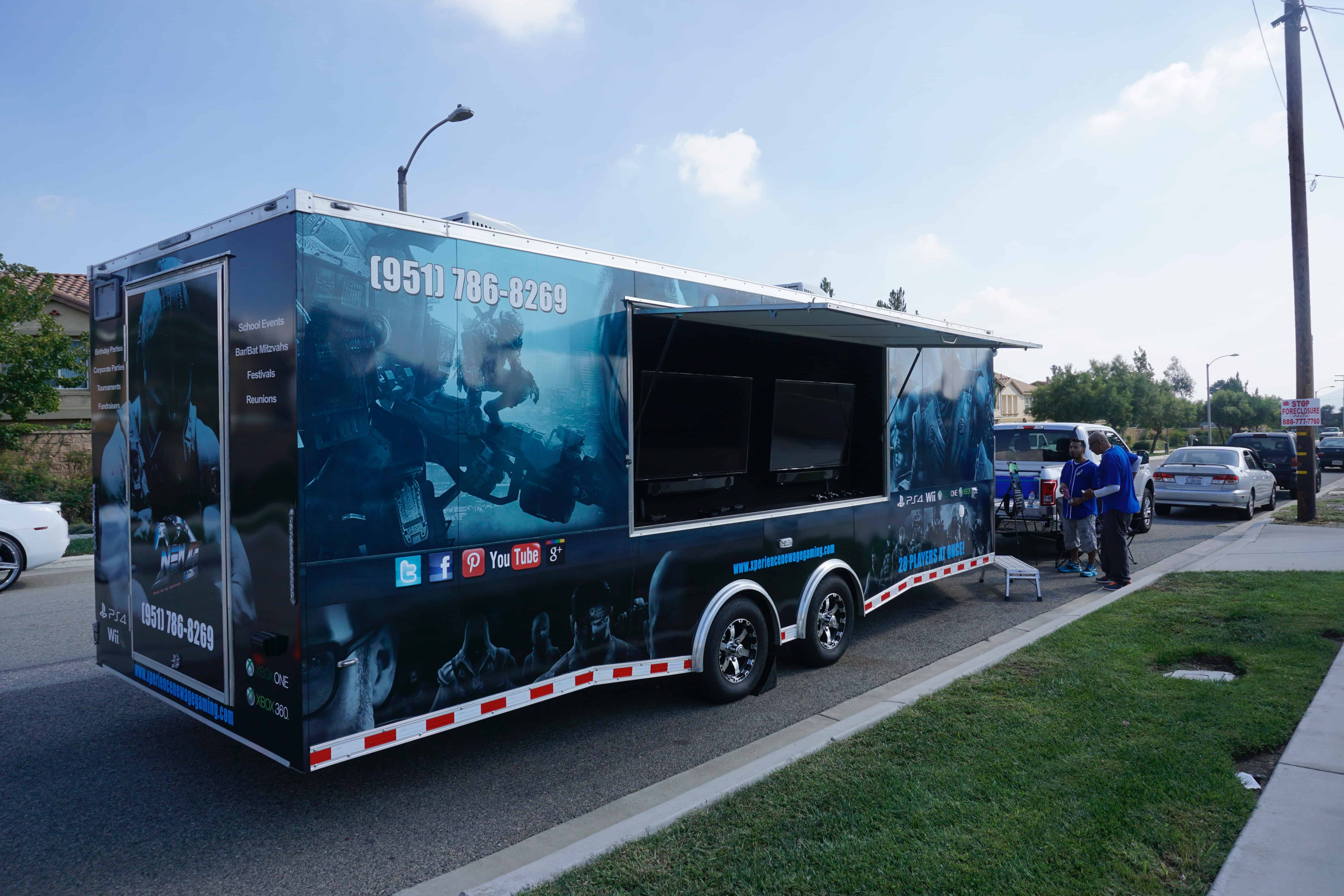 Video Game Truck Birthday Parties Make Your Kids Dream Come True
